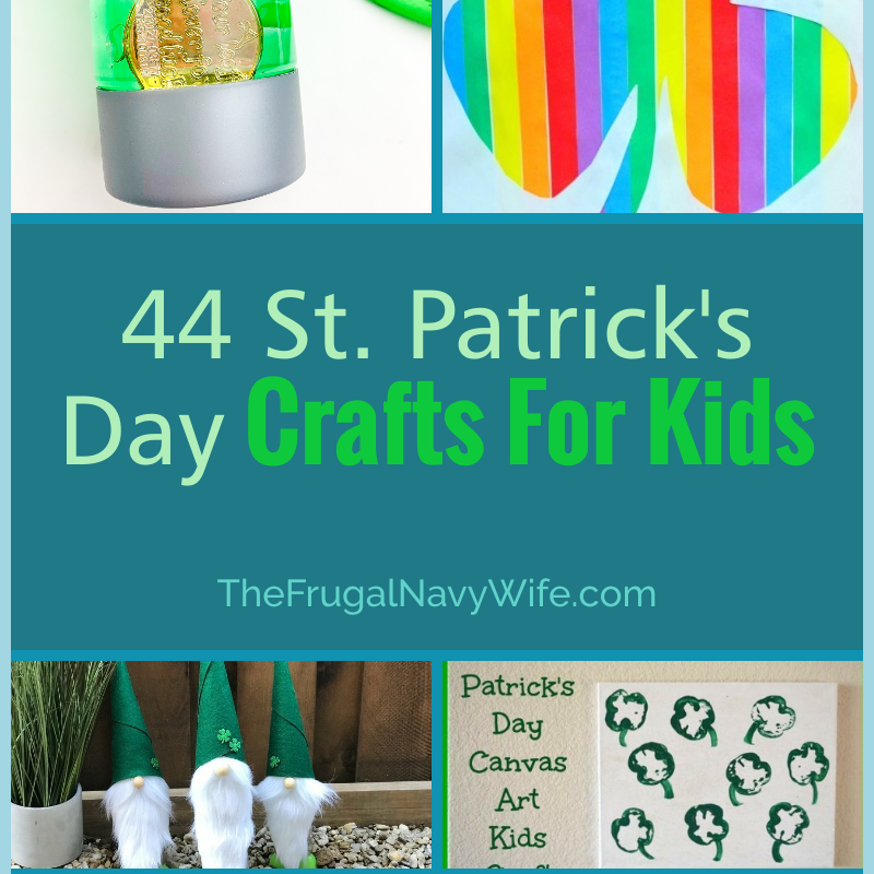 44 St Patrick's Day Crafts For Kids