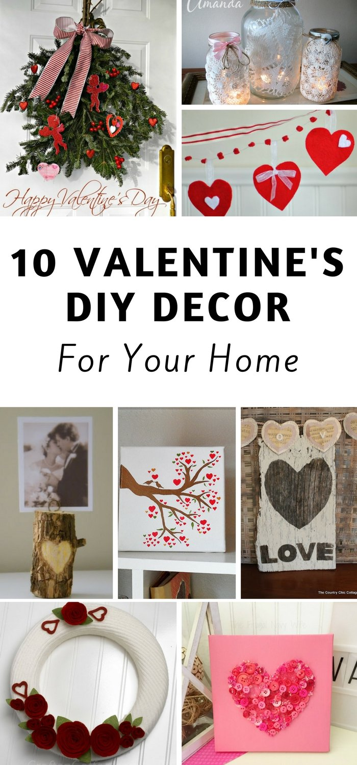 Valentine 39 s day decorations for your home the frugal for Home decorations for valentine s day