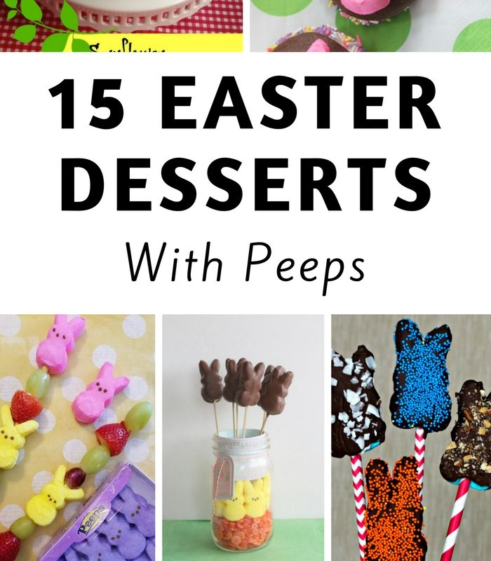15 Easy Easter Recipes with Peeps