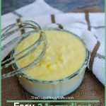 Stop buying heavy whipping cream and make this Heavy Cream Substitute at home. This saves so much from going to waste as well. #frugalnavywife #baking #heavycreamsubstitute #fromscratch #frugalliving   Baking Tips   Baking Hacks   Heavy Cream Substitute   Scratch Baking   Frugal Living Tips   2 ingredient recipes