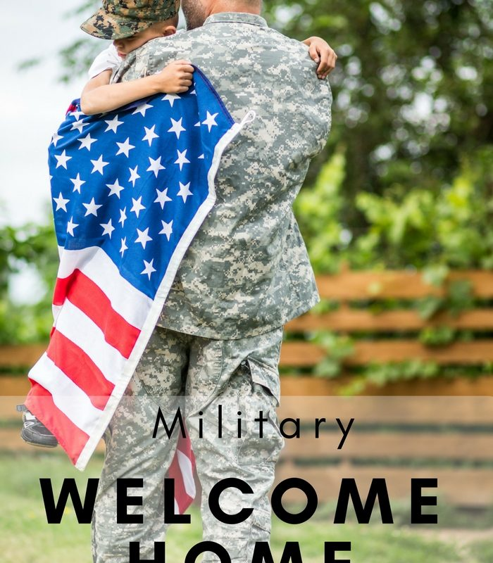 Free Military Welcome Home Banners And Signs