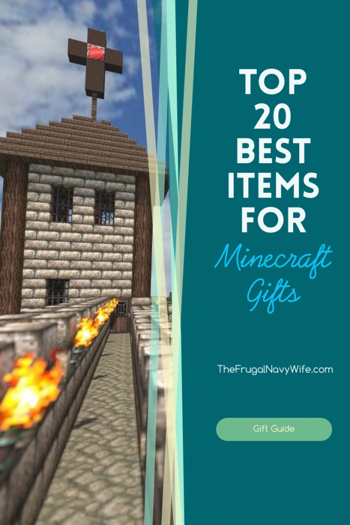 Don't let gift shopping be a chore. Use this top 20 items list for Minecraft gifts to make shopping easier for you. Get all your Minecraft gifts done in one stop. #thefrugalnavywife #minecraft #giftguide #holidaygiftguide | Minecraft Gifts | Gifts for Minecraft Lovers | Holiday Gift Guide | Gift Ideas for Minecraft | Gift Guide