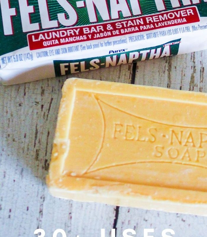 35 Uses for Fels Naptha Soap That Will Change Your Life & Your Budget!