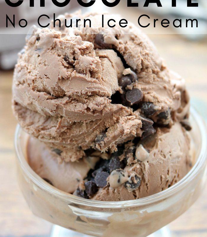 Hershey's Double Chocolate No-Churn Ice Cream