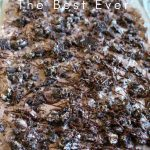 Oreo Dirt Pie is the most addicting thing in the world. Don't Believe me? Give it a try. This pie will leave you wanting more so make 2 just in case. #oreo #pie #chocolate #dessert #frugalnavywife | Dessert Recipes | Oreo Recipes | Pie Recipes | Chocolate Recipes