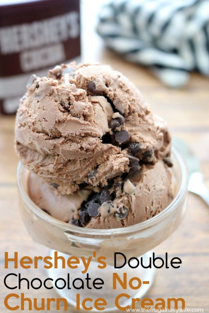 The best way to cool off in the summer is with ice cream. You can't go wrong with this chocolate No-Churn Ice Cream recipe! So Simple! #frugalnavywife #chocolate #nochurnicecream #icecream #easyrecipe #dessert #summer | Summer Desserts | No-Churn Ice Cream Recipes | Ice Cream Recipes | Make Your Own Ice Cream | Chocolate Recipes | Dessert Recipes | Easy Ice Cream Recipes