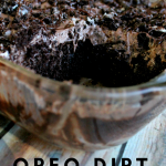 Oreo Dirt Pie is the most addicting thing in the world. Don't Believe me? Give it a try. This pie will leave you wanting more so make 2 just in case. #oreo #pie #chocolate #dessert #frugalnavywife | Dessert Recipes | Oreo Recipes | Pie Recipes | Chocolate Recipes | Chocolate Lovers | Poke Cake Recipes |