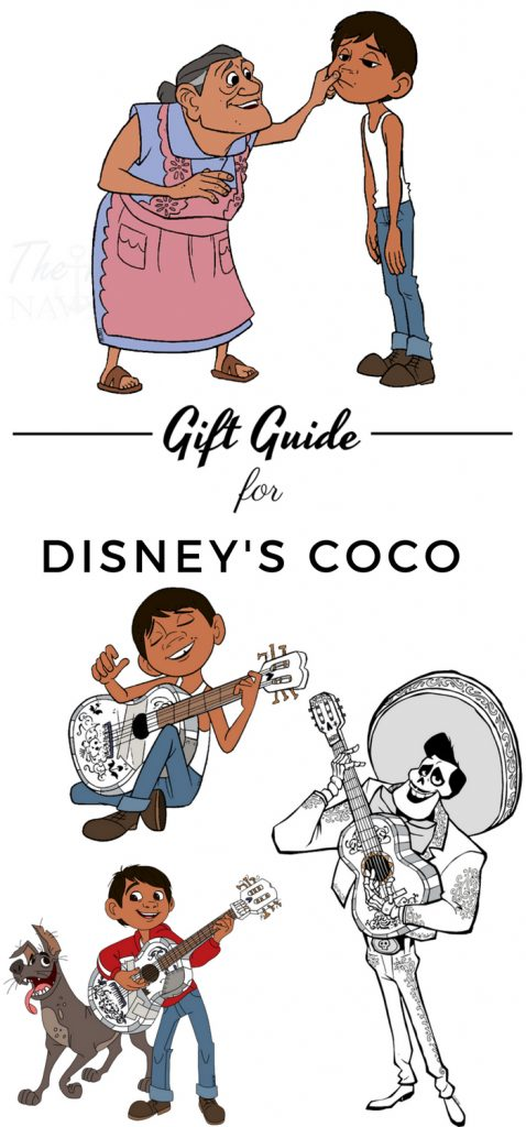 Transcend into the magic of life with your little one and COCO. Find amazing Disney Coco gift ideas here for any occasion. #disney #coco #giftguide #frugalnavywife | Holiday Gift Guide | Disney Coco | Gift Ideas |