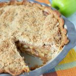 My favoritepie at any family get together is apple pie. Tweaking a few things in this traditional Dutch apple pie recipe has now become a crowd favorite. #applepie #dessert #dutchapplepie #frugalnavywife | Apple Pie Recipes | Dutch Apple Pies | Dessert Recipes | Pie Recipes | Apple Recipes