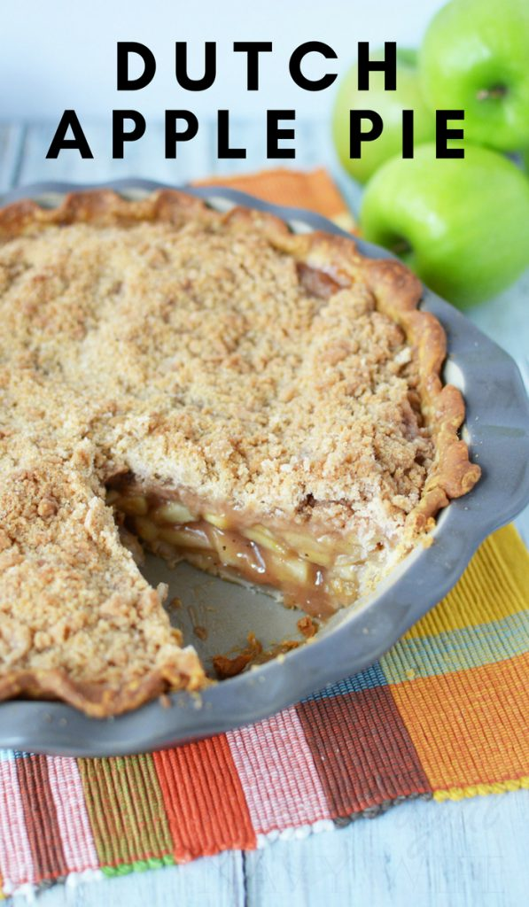 My favorite pie at any family get together is apple pie. Tweaking a few things in this traditional Dutch apple pie recipe has now become a crowd favorite. #applepie #dessert #dutchapplepie #frugalnavywife | Apple Pie Recipes | Dutch Apple Pies | Dessert Recipes | Pie Recipes | Apple Recipes