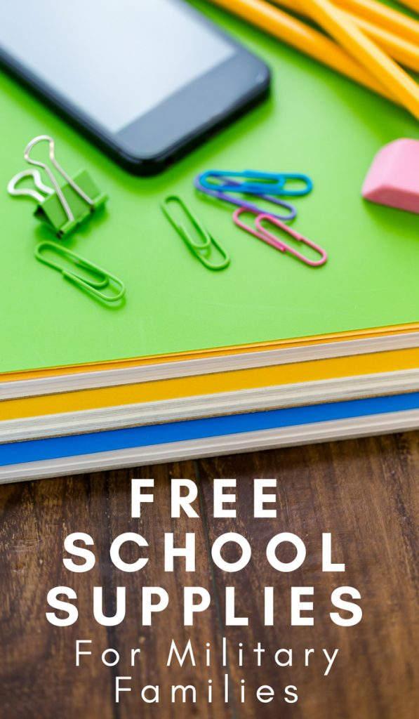 Free School Supplies for Military Families | The Frugal Navy Wife