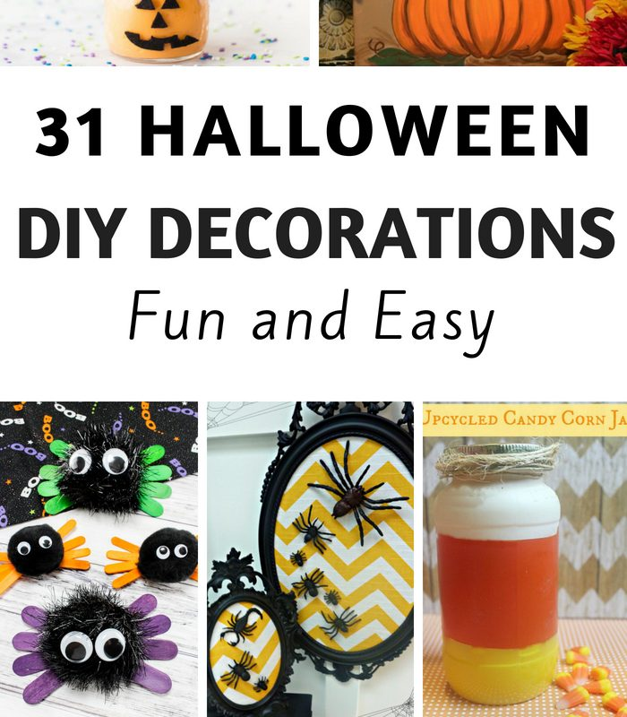 31 Fun and Easy DIY Halloween Decorations