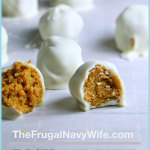Every year I make these pumpkin spice truffles for friends and family and they are a huge hit. This is one of our favorite pumpkinrecipes. #pumpkinspice #pumpkinrecipe #fallrecipe #frugalnavywife #dessert #truffles | Pumpkin Spice Recipes | Pumpkin Recipes | Fall Recipes | Truffle Recipes | Dessert Recipes | Easy Desserts | Easy Fall Desserts