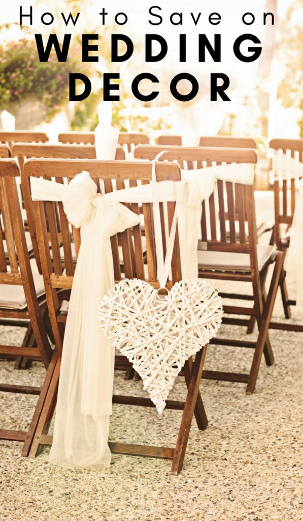 How to Save Money on your Wedding Ceremony Decor. Use these tips to stay on budget and still have a remarkable wedding. #weddingdecor #frugalwedding #weddingceremony #frugalnavywife   Wedding Decor   Frugal Wedding Tips   Wedding Ceremony Ideas   Save Money on your Wedding