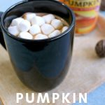 An easy combination of pumpkin and a classic hot chocolate will have you antsy for fall flavors. Make this Pumpkin Hot Chocolate today. #pumpkinrecipes #hotchocolate #drinks #yum #fallrecipes #frugalnavywife | Fall Recipes | Hot Chocolate Recipes | Pumpkin Recipes | Fall Drink Recipes