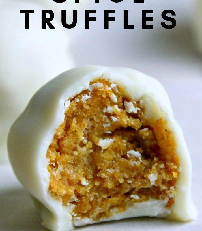 Easy Pumpkin Spice Truffles Recipe