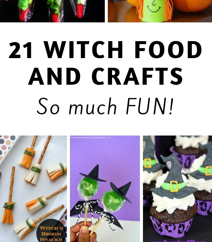 21 Halloween Witch Food and Crafts