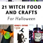 Making Witch food and crafts for Halloween is one of my favorite themes to use. Here are 21 Halloween Witch Foods and Crafts for this year. #halloween #witch #halloweencrafts #halloweenfoods #frugalnavywife   Halloween   Halloween Foods   Halloween Crafts   Witch DIYs   Witch Foods   Witch Crafts