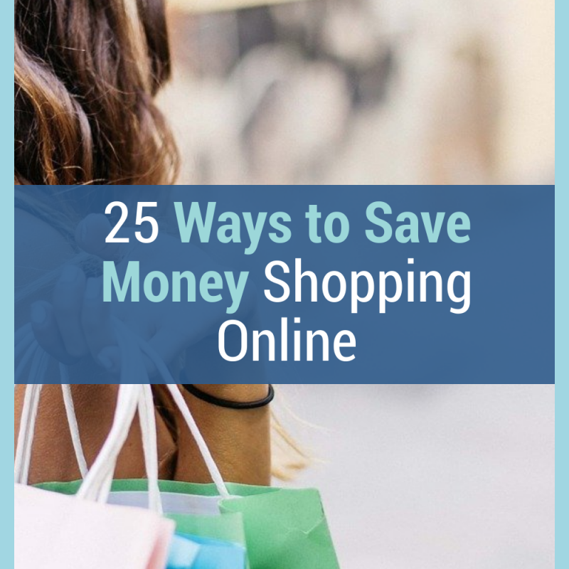 25 Ways to Save Money Shopping Online