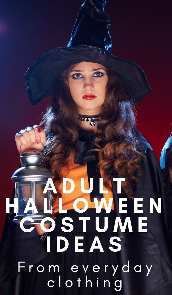 Easy Adult Halloween Costume Ideas  The Frugal Navy Wife