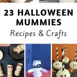 Create some unique mummy recipes and crafts and have the whole family get involved. Spooky mummies are a thing of the past with these recipes and crafts. #halloween #mummies #frugalnavywife #crafts #recipes | Halloween Treats | Halloween Mummies | Mummy Crafts | Mummy Recipes