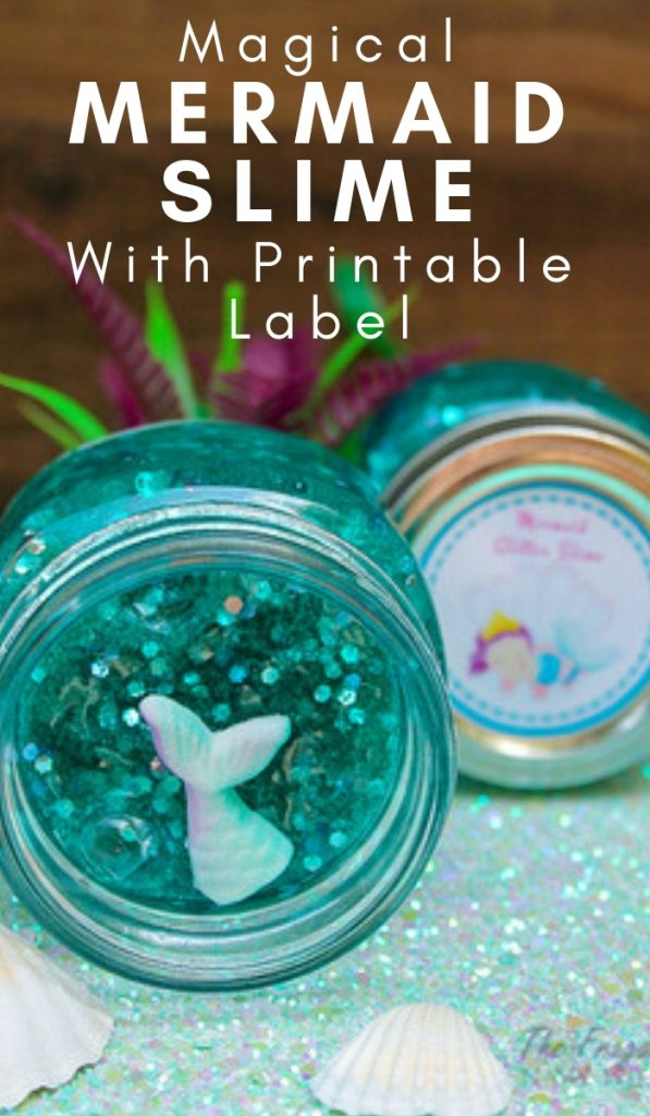The Best Mermaid Slime Recipe you will find. The Mermaid lover in your life will love making this mermaid slime to play with. #mermaid #slimerecipe #mermaidslime #kids #frugalnavywife | Slime Recipes | Mermaid Slime | How to make slime | Kids Activity