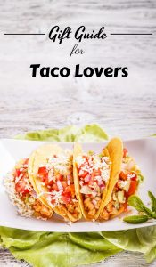 If you are lost on what to get someone who is a big Taco Tuesday fan then check out these gifts for taco lovers they are sure to be a hit! #tacos #tacotuesday #giftguide #frugalnavywife #holidaygiftguide | Holiday Gift Guide | Taco Gift Ideas | Taco Lovers |
