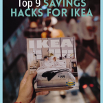 Don't go to Ikea and pay full price. Go ahead and check out these saving hacks for Ikea! You'll love knowing how to save money there. #frugalnavywife #savingmoneyatikea #moneyhacks #ikeahacks   How to save money at Ikea   Ikea Hacks  Ikea Money Saving Hacks   Shopping at Ikea   Tips for Shopping at Ikea