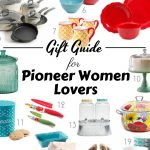 While thinking of gifts this year I made this list of PioneerWoman Gift Ideas. The Pioneer Woman lover in your life will thank you. #holidaygiftguide #giftguide #frugalnavywife #pioneerwoman   Pioneer Woman Gift Guide   Holiday Gift Guide   Gift Guides  