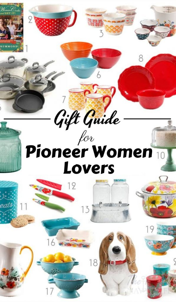 While thinking of gifts this year I made this list of PioneerWoman Gift Ideas. The Pioneer Woman lover in your life will thank you. #holidaygiftguide #giftguide #frugalnavywife #pioneerwoman | Pioneer Woman Gift Guide | Holiday Gift Guide | Gift Guides |