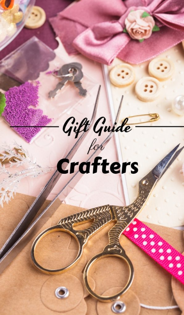 These gift ideas for crafters are ones they will love and give them inspiration well into the next year. Your crafter friends will thank you! #crafters #diy #frugalnavywife #giftguide | Gift Guide | Gifts Ideas | Gifts for Crafters | DIY Gift Guide