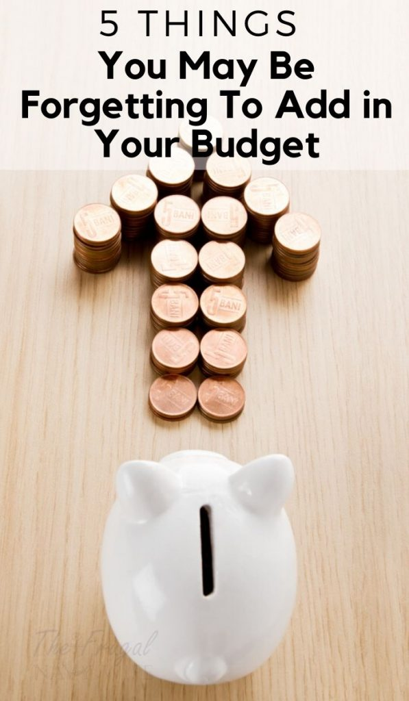 Check out these Forgotten Monthly Expenses you may be forgetting to budget for and put them in your budget right away. Be prepared for everything. #budgeting #expenses #money #frugalnavywife #frugalliving | Saving Money | Budgeting Ideas | Forgotten Monthly Expenses