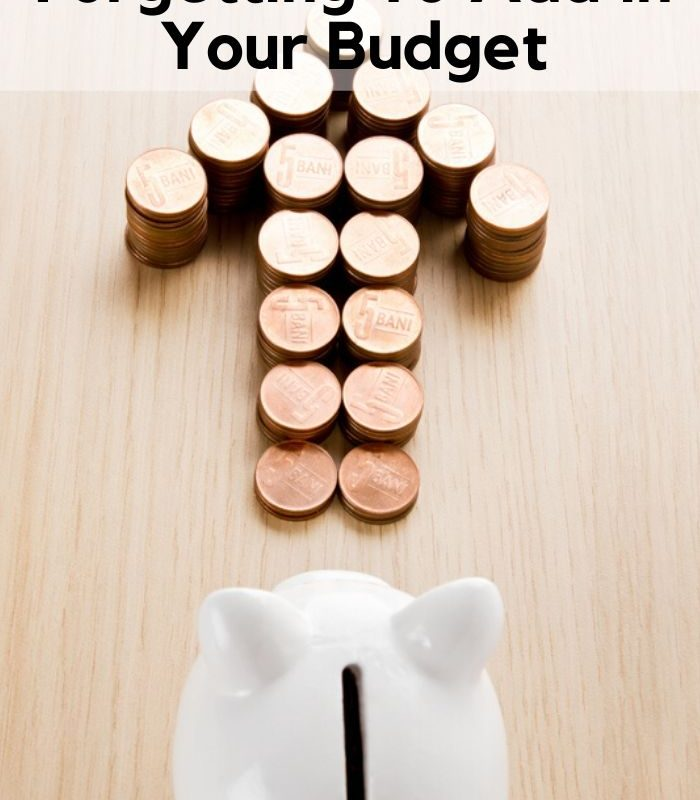7 Forgotten Monthly Expenses You NEED To budget For!