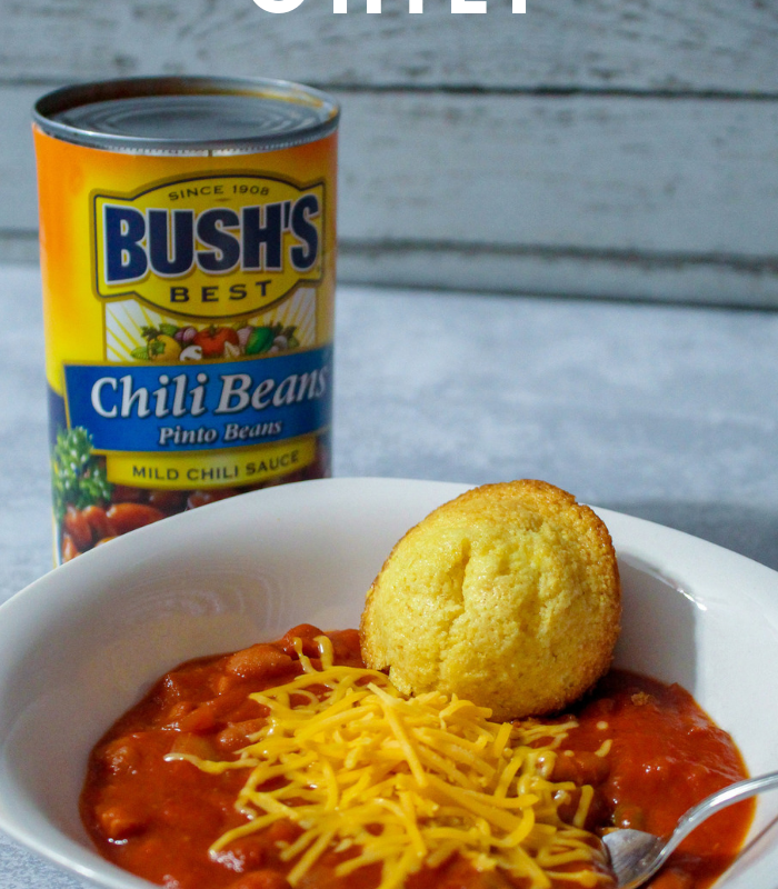 Easy Meatless Chili Recipe with BUSH'S® Chili Beans