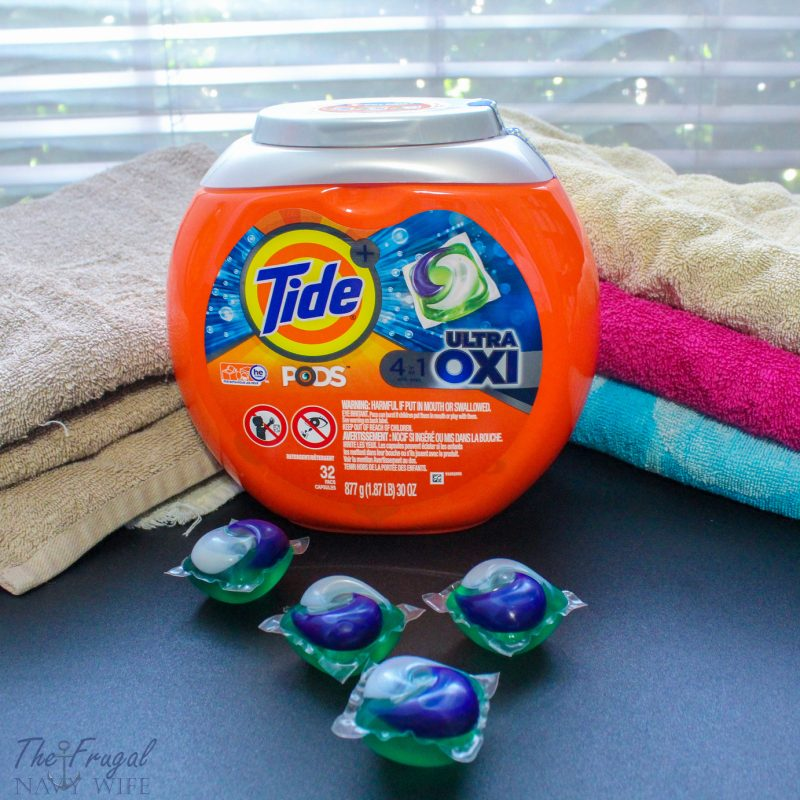 Large Family Laundry Tips + Tide Savings