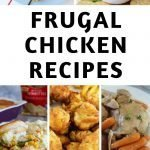 Frugal Chicken recipes are a great way to stretch your grocery budget and make amazing meals that don't taste cheap! Here are our faves! #chickenrecipes #recipes #chicken #dinner #sides #frugalnavywife | Dinner Recipes | Side Dish Recipes | Chicken Recipes | Frugal Chicken Recipes | Easy Weeknight Meals | Family Recipes