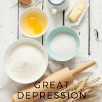 When it comes to cooking, these simple great depression cooking tips will help you save money on feeding your family. You may already be doing some! #frugalliving #savingmoney #frugalnavywife #greatdepression   Frugal Living   Saving Money Tips   Great Depression Tips