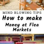 Make Money at Flea Markets by Selling Items You Get For Free. Yep, you read that right. Sell items that you get for free. How? There are a few ways. #frugalnavywife #fleamarkets #makemoney #earnmoney | How to make Money | Flea Markets | Ways to make money | Financial |