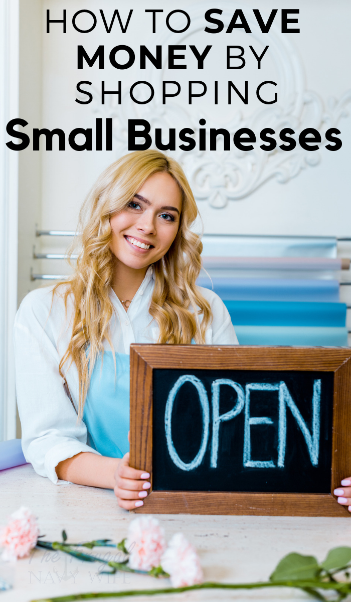Save Money Shopping Small Businesses