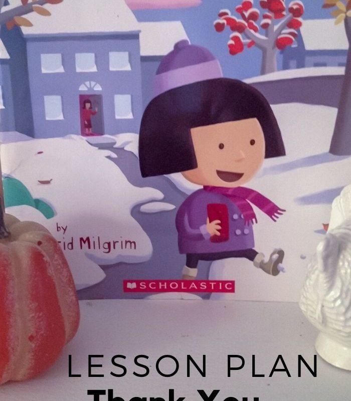 Thank You Thanksgiving Lesson Plan