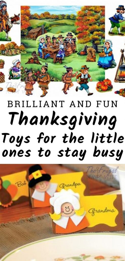 Thanksgiving can be chaotic, keep your little ones occupied with these Thanksgiving toys for kids. Educational, no mess, and simply fun! #thanksgiving #kidsactivities #kidsbooks #frugalnavywife | Thanksgiving | Thanksgiving Kids Activities | Kid Activities | Kids Books