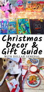 Dollar General Christmas Guide