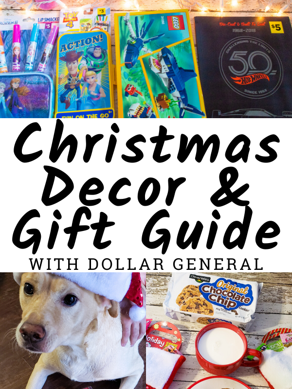 Dollar General Christmas Decor and Gift Guide