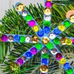 My kids love doing popsicle stick crafts. Here is our Popsicle Stick Snowflake Craft it was a great way to get the kids distracted during the holiday break!#frugalnavywife #popsiclestickcrafts #snowflakes #easycraftsforkids #diy | Easy Crafts for kids | Snowflake Crafts | DIY Crafts | Winter Crafts for kids | Popsicle Stick Craft Ideas