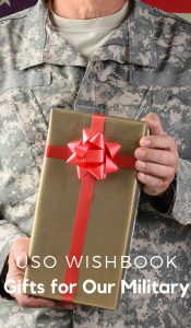 There is no doubt that all service members and military families work hard every day. There are daily sacrifices that are made. We can make the holidays a little more special with the USO Wishbook. #frugalnavuwife #USOHolidays #ad @theUSO #givingtuesday | Giving Tuesday | Military Gifts | Alternate Gift Ideas | Deployed Military | Military Life | Armed Forces | Gifts for our Military |