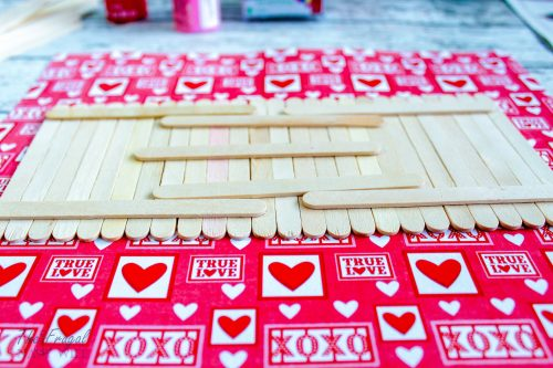 Popsicle Stick Love Sign