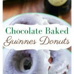 The perfect breakfast for St. Patrick's Day. Make a batch of these Guinness Chocolate Baked Donut Recipe with Baileys Glaze to start your day off right. #thefrugalnavywife #donuts #stpatricksday #breakfastidea #guinness   Donuts Recipe   Breakfast Recipe   St. Patrick's Day Recipe   Recipes with Guinness  