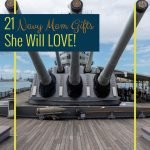 We support our kids 110% so when they go and join the Navy we are proud. These Navy Mom gifts are perfect they allow her to tell everyone about her kids. #frugalnavywife #giftguide #navymom #giftideas | Navy Mom | Gift Ideas | Gift Guide | Navy Gift Ideas