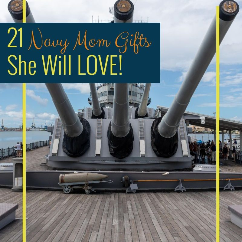 21 Navy Mom Gifts She Will LOVE!