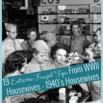The 1940's Housewives back then were busy finding crafty ways to help make ends meet on the homefront. They used these extreme frugal tips just to survive. #frugalnavywife #frugallivingtips #frugalliving #1940frugallivingtips   Thrifty Living   Frugal Living Tips   Extreme Frugal Living Tips  